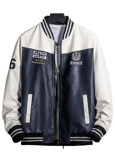 Men Jacket Men's casual jacket motorcycle jacket Men Cloth