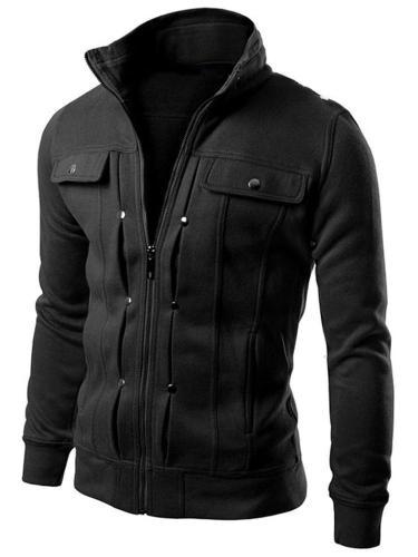Men's Jacket, Fashion Men's Classic Slim Lapel Cardigan Jacket Sweatshirt Jacket Men Cloth Jacket