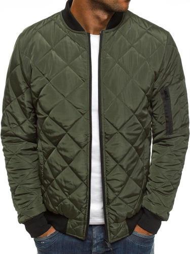 Stand Jacket Collar Patchwork Casual Spring Jacket Man Jacket