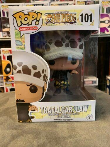 Funko pop one piece trafalgar D. water law 101 vinyl figurine