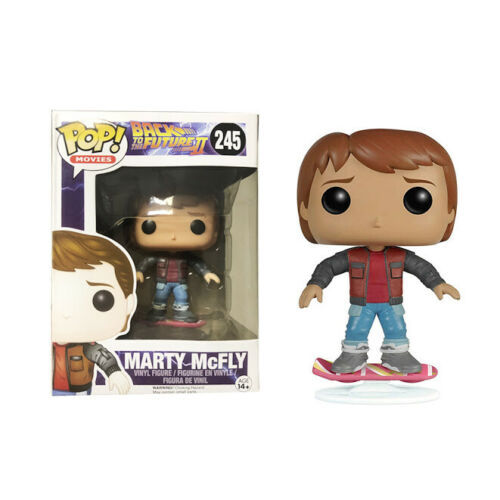 Funko Pop MARTY-McFLY 245 Vinyl Figure Back to the Future