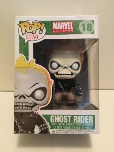 Funko Pop Vaulted Ghost Rider #18 Vinyl Figure