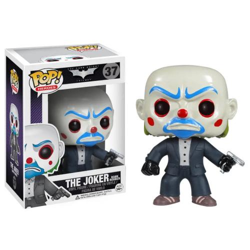 Funko Pop Heroes The Joker Bank Robber 37 Vinyl Figure The Dark Knight