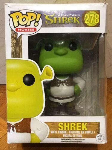 FUNKO POP SHREK# 278 VINYL FIGURE NEW
