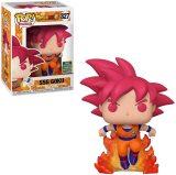Funko Pop! Dragon Ball Super #827 Super Saiyan God Goku (2020 Summer Convention Exclusive)