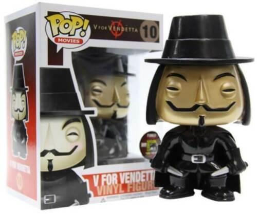 Funko Pop V For Vendetta #10 Metallic Vinyl Figure