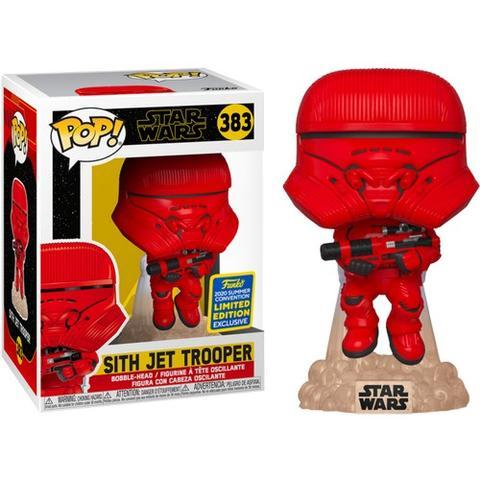 Funko Pop! Star Wars: Rise of Skywalker - Sith Jet Trooper 383, Summer Convention Exclusive