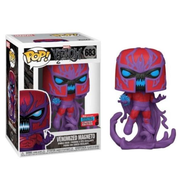 Funko POP Marvel Venom - Venomized Magneto #683 Vinyl Figure