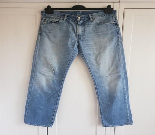 Jeans blue jeans high waist