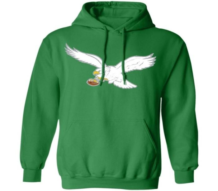 An eagle hoodie