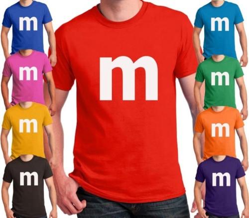 M printed T-shirt