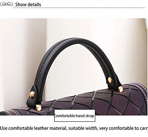 Women's Bag Shoulder Bag Small Checkered Bag Ladies Messenger Bag