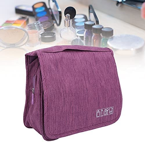 Make Up Bag, Hanging Toiletry Bags Portable Multiple Compartments Foldable for Outdoor Travel