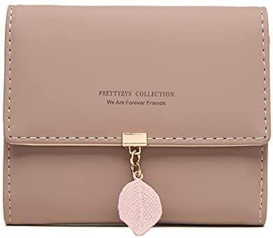 Women's Small Wallet Zipper Pocket Bifold Wallets
