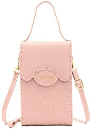 2021 Cell Phone Crossbody Bag for Women Leather With Strap Roomy Messenger Shoulder Bag
