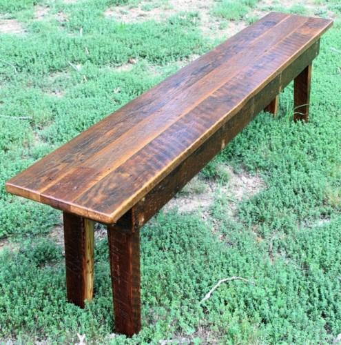 The farmhouse bench