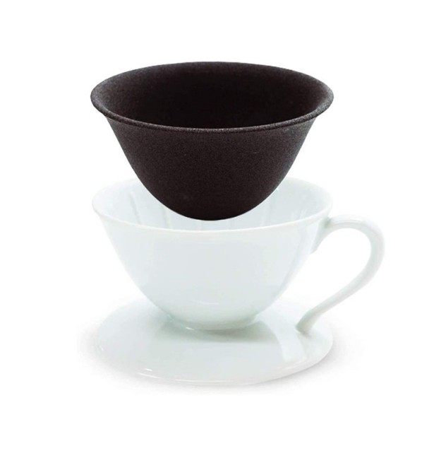 Ceramic coffee drip filter