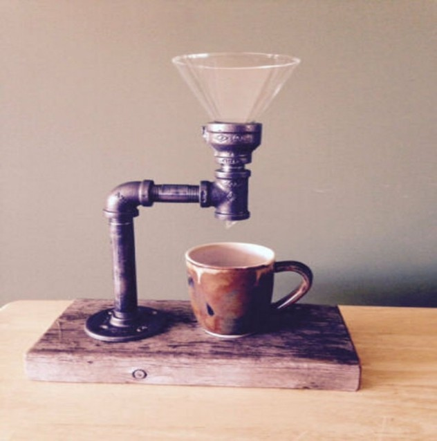 Old-fashioned coffee maker