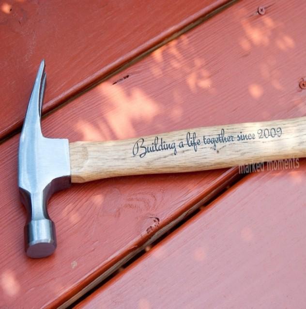 Lettering hammer