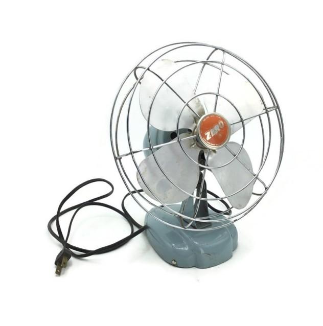 Vintage Metal Cooling Fan