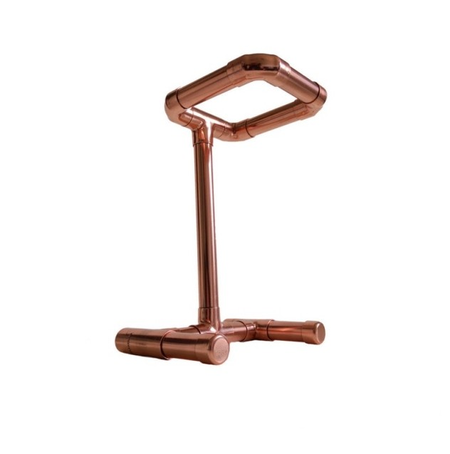 Bronze antique coffee drip rack