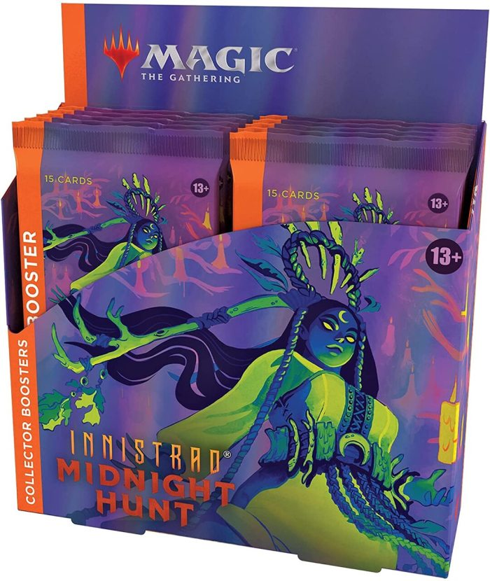 Magic: The Gathering Innistrad: Midnight Hunt Collector Booster Box   12 Packs