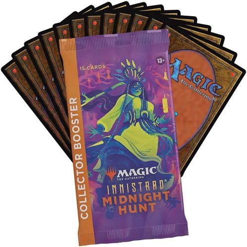 Magic: The Gathering Innistrad: Midnight Hunt Collector Booster Box | 12 Packs