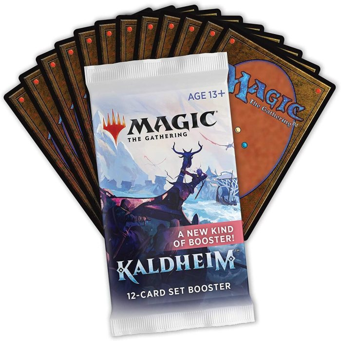Magic The Gathering Kaldheim Set Booster Box | 30 Packs