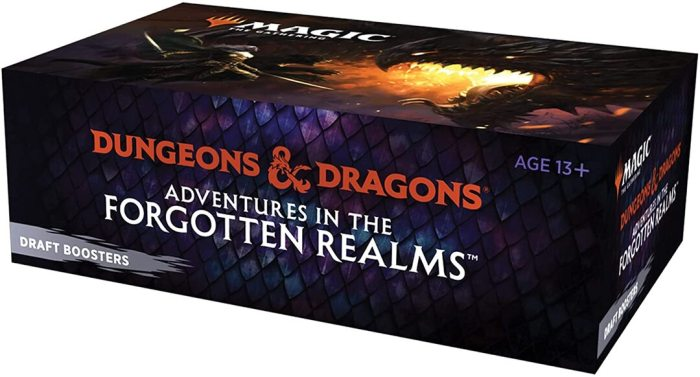 Magic: The Gathering Adventures in the Forgotten Realms Draft Booster Box | 36 Packs