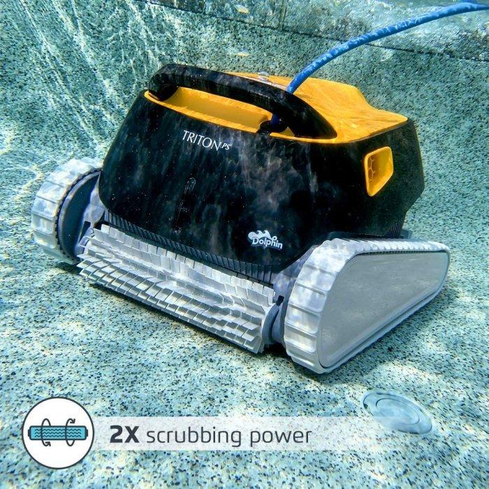 DOLPHIN Triton PS Robotic Pool [Vacuum] Cleaner