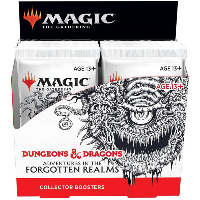 Magic: The Gathering Adventures in the Forgotten Realms Collector Booster Box | 12 Packs