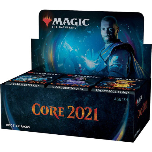Magic: The Gathering Core Set 2021 (M21) Draft Booster Box | 36 Booster Packs