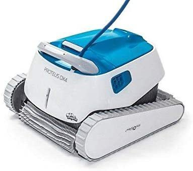 DOLPHIN Proteus DX4 Automatic Robotic Pool Cleaner with Exceptional Cleaning Power