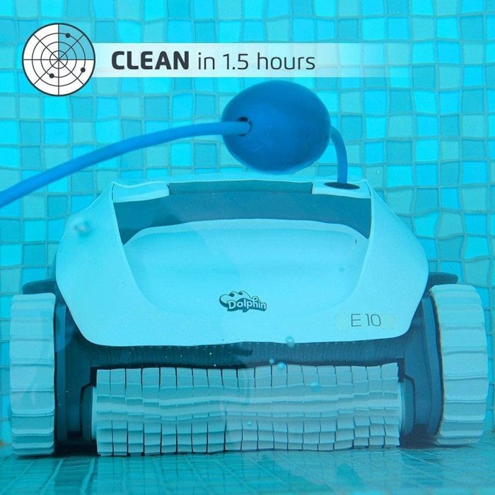 DOLPHIN E10 Automatic Robotic Pool Cleaner