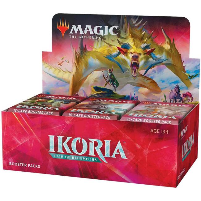 Magic: The Gathering Ikoria: Lair of Behemoths Draft Booster Box | 36 Draft Booster Packs