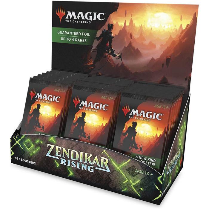 Magic: The Gathering Zendikar Rising Set Booster Box| 30 Packs