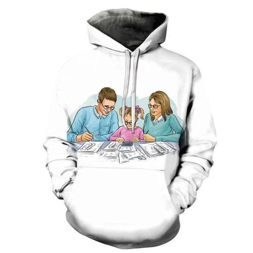 Financial Literacy 3D - Sweatshirt, Hoodie, Pullover