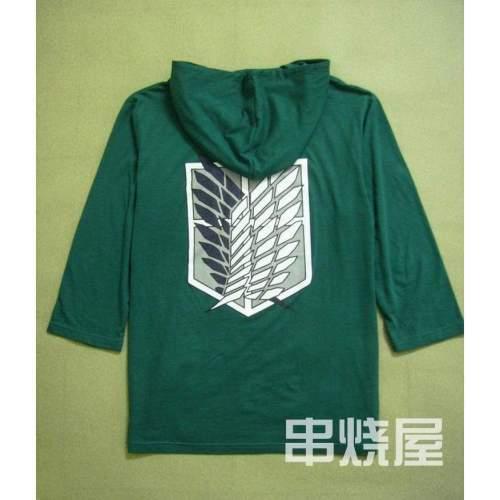 Attack on Titan Eren Jäger Recon Corps T-Shirt Hoodie Sweater Cosplay Costume