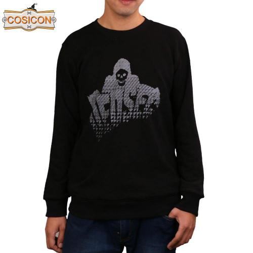 Watch Dogs 2 Marcus Long Sleeve Hoodies Men'S Cosplay  Black Sweatshirts