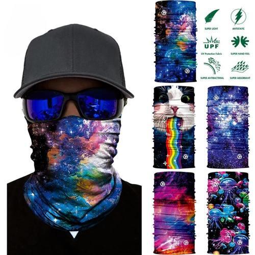 3D Galaxy Print Balaclava Face Mask
