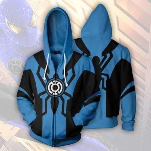 Spider-Man Hoodie - The Avengers Zip Up Hoodie
