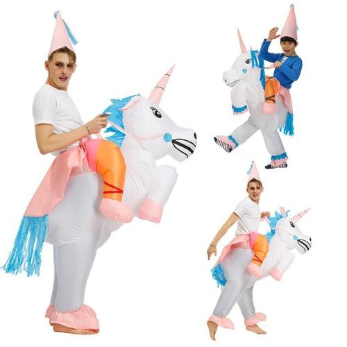 Inflatable Unicorn Cosplay T-Rex Clothing Halloween Costumes Jumpsuits