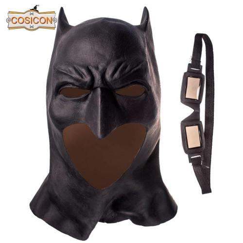 Batman Wayne Cosplay  Latex Helmet Halloween Mask