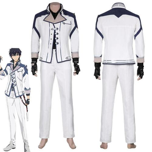 Demon King Academy-Anos Voldigoad Shirt Pants Outfits Halloween Carnival Suit Cosplay Costume