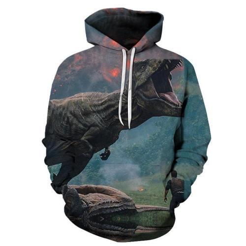Jurassic World 3D Sweatshirt Hoodie Pullover