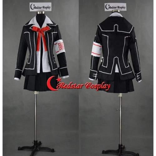Vampire Knight Cosplay Costume Yuki Cross Black Uniform Custom In Any Size