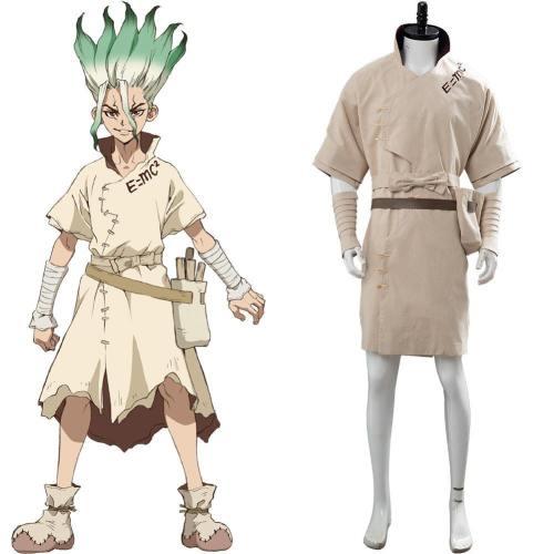 Dr. Stone Senku Ishigami Cosplay Costume