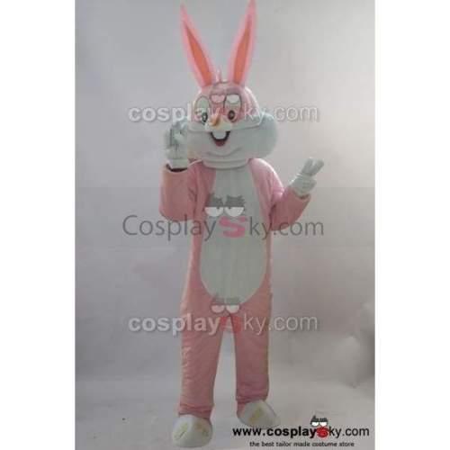 New Rabbit Mascot Cosplay Costume Adult Size