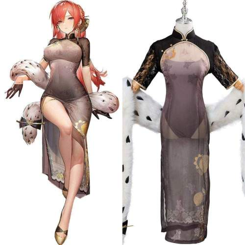 Azur Lane Monarch Rufous Cosplay Costume