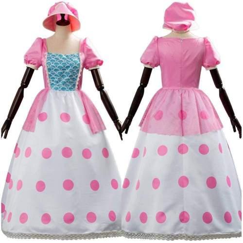 Toy Story 4 Bo Peep Suit Cosplay Costume